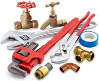Plumbing tools and fixings